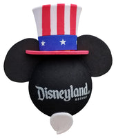 Disneyland Resort Mickey Patriotic Hat w/ Beard Car Antenna Topper / Desktop Bobble Buddy