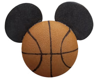 *Last One* Disney Mickey Mouse Basketball Antenna Topper / Desktop Bobble Buddy