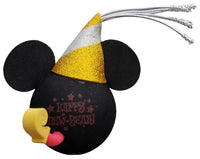 Mickey Mouse Happy New Year Car Antenna Topper / Desktop Bobble Buddy
