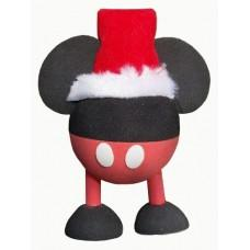 Mickey Mouse Santa Red Pants With Legs Car Antenna Topper / Desktop Spring Stand