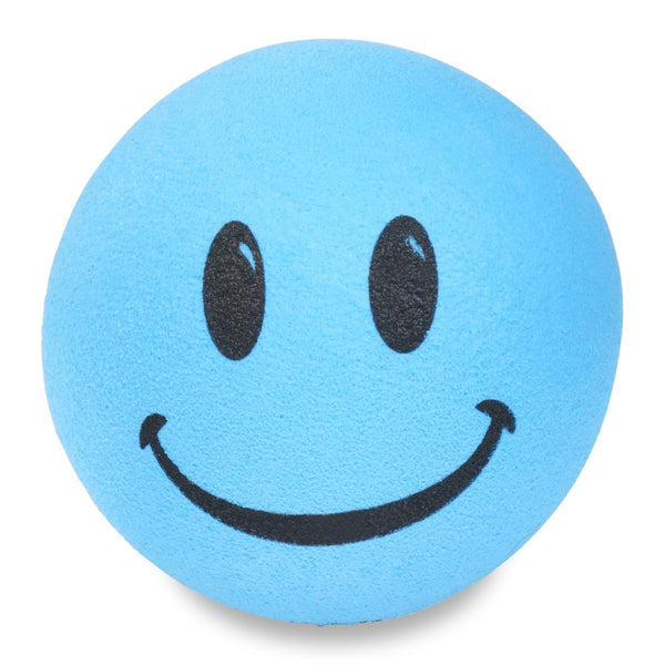 ...HappyBalls Happy Smiley Face Car Antenna Topper / Desktop Bobble Buddy (Blue)