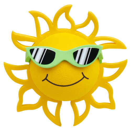 Coolballs California Sunshine w (Lime Green) Sunglasses Car Antenna Topper / Desktop Bobble Buddy