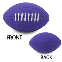 Quantity 3 pcs - Coolballs Cool Purple Football Car Antenna Topper