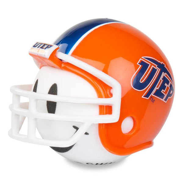 UTEP Texas El Paso Miners Car Antenna Topper / Desktop Bobble Buddy (White Smiley) (College Football)