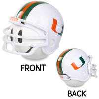 Miami Hurricanes Car Antenna Topper / Desktop Bobble Buddy (White Smiley) (College Football)