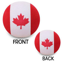 Tenna Tops Canadian Canada Flag Car Antenna Topper / Desktop Spring Stand Bobble