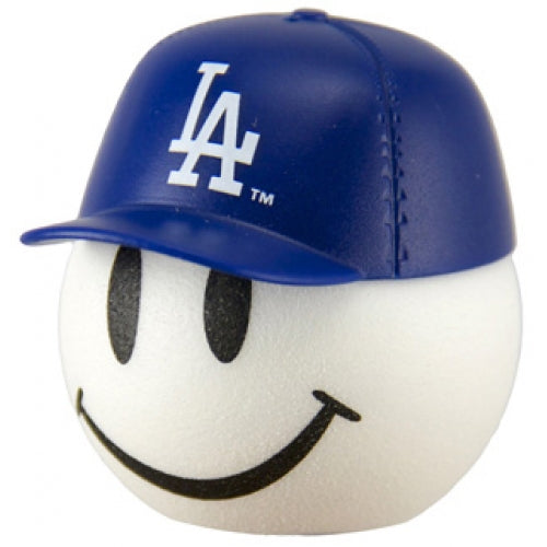 LA Dodgers Cap Head Car Antenna Topper / Desktop Bobble Buddy (MLB Baseball)