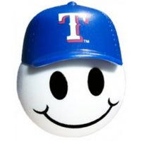 Texas Rangers Cap Head Car Antenna Topper / Desktop Bobble Buddy (MLB Baseball)