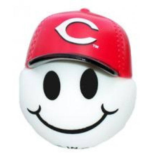 Cincinnati Reds Cap Head Car Antenna Topper / Desktop Bobble Buddy (MLB Baseball)