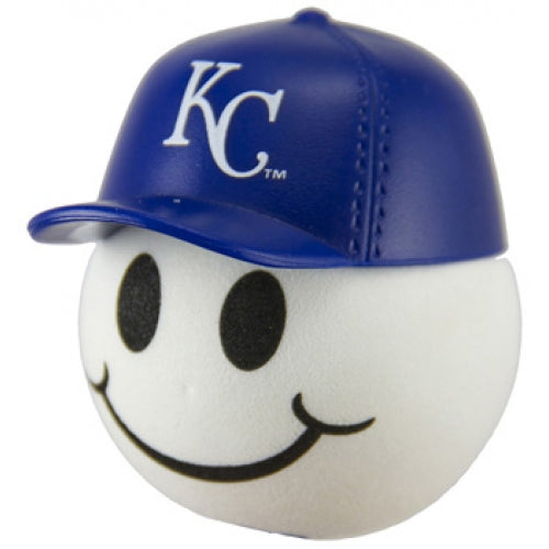 Kansas City Royals Cap Head Car Antenna Topper / Desktop Bobble Buddy (MLB Baseball)