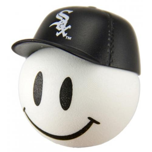 Chicago White Sox Cap Head Car Antenna Topper / Desktop Bobble Buddy (MLB Baseball)