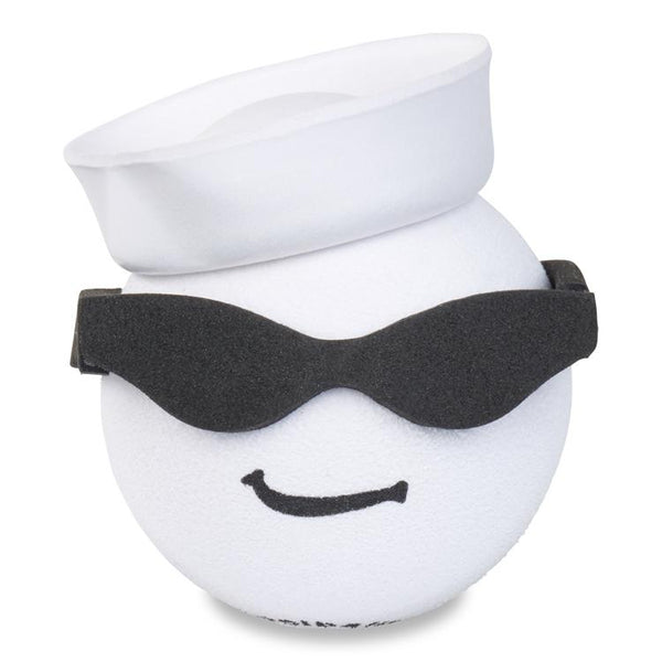 Coolballs Navy Sailor Guy w/ Sunglasses Car Antenna Topper / Desktop Spring Stand Bobble