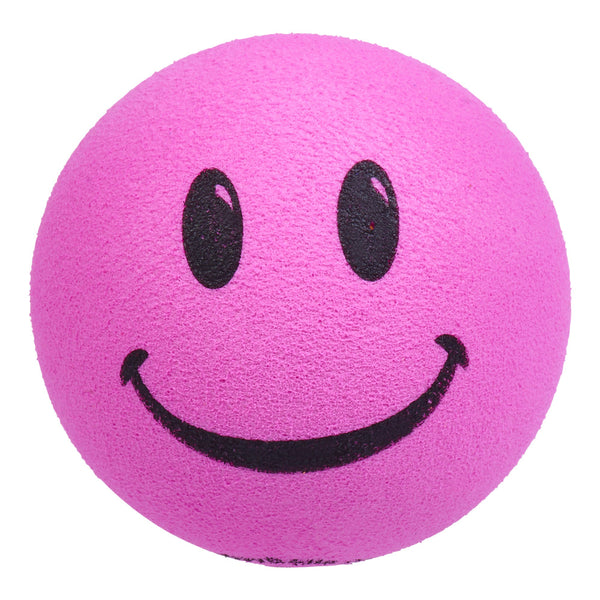 ...HappyBalls Happy Smiley Face Car Antenna Topper / Desktop Bobble Buddy (Pink)