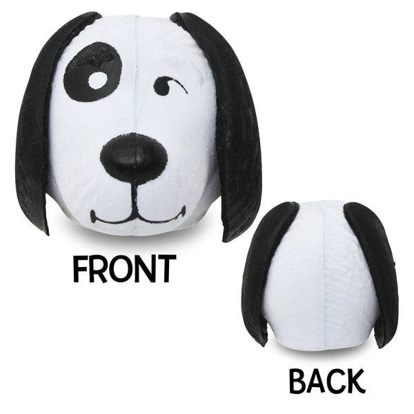 Coolballs Cool Doggie Car Antenna Topper / Desktop Bobble Buddy (White)