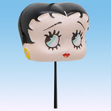 Coolballs Betty Boop Head Car Antenna Topper / Auto Mirror Hanger / Desktop Bobble Buddy