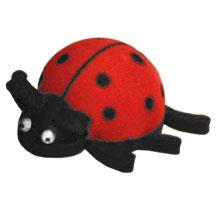 Coolballs Cool Ladybug Antenna Topper / Desktop Bobble Buddy