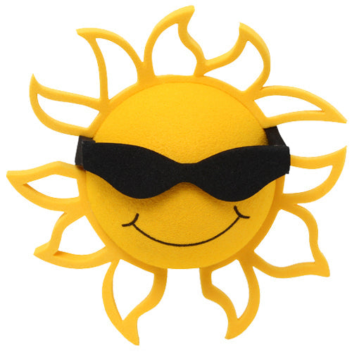 Coolballs California Sunshine Sunglasses Car Antenna Topper / Desktop Bobble Buddy (Black)