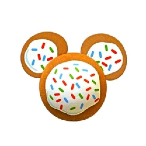 Mickey Gingerbread Cookie Antenna Topper / Desktop Spring Stand