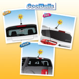 Coolballs California Sunshine w (Pink) Sunglasses Car Antenna Topper / Desktop Bobble Buddy