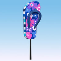 Tenna Tops Flip Flop Sandal Car Antenna Topper / Desktop Bobble Buddy (Purple)