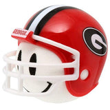 Georgia Bulldogs Helmet Head Car Antenna Topper / Desktop Bobble Buddy (White Smiley) (College Football)