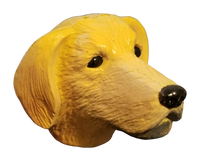 *Last one* Antenna Pets Golden Retriever Antenna Topper / Desktop Bobble Buddy
