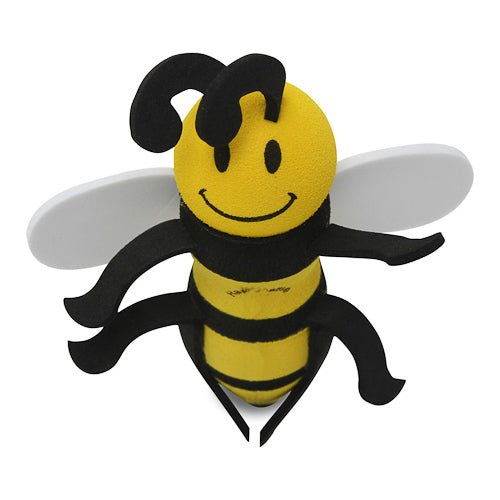 HappyBalls Happy Bee Car Antenna Topper / Desktop Bobble Buddy