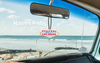HappyBalls Las Vegas Sign Antenna Topper / Mirror Hanger / Desktop Spring Stand