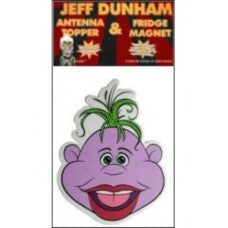 Jeff Dunham Peanut Car Antenna Topper / Desktop Spring Stand Bobble