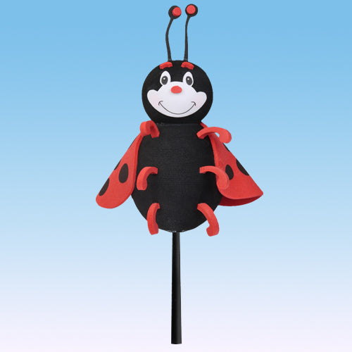 "Tenna Tops ""Lucky"" the Ladybug Car Antenna Topper / Desktop Bobble Buddy (3"" Height)"