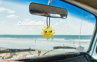 Coolballs California Sunshine w (Lime Green) Sunglasses Car Antenna Topper / Desktop Spring Stand Bobble