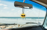 Coolballs California Sunshine Sunglasses Car Antenna Topper / Desktop Spring Stand Bobble (Black)