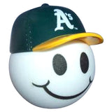 *Last One* Oakland A's MLB Baseball Car Antenna Topper / Desktop Spring Stand Bobble