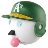 2002 Jack in the Box MLB Oakland A's Antenna Topper / Desktop Spring Stand Bobble