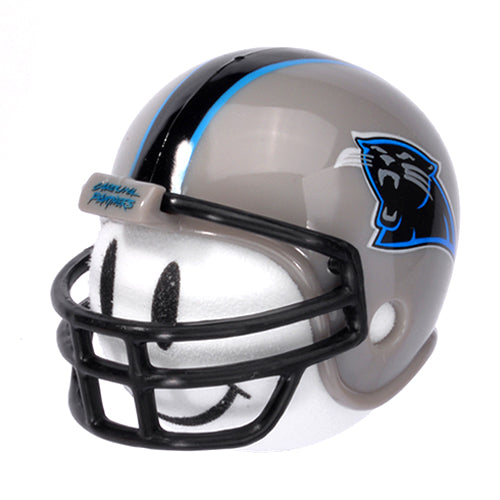 Carolina Panthers Helmet Head Car Antenna Topper / Auto Mirror Dangler / Desktop Bobble Buddy (NFL Football)