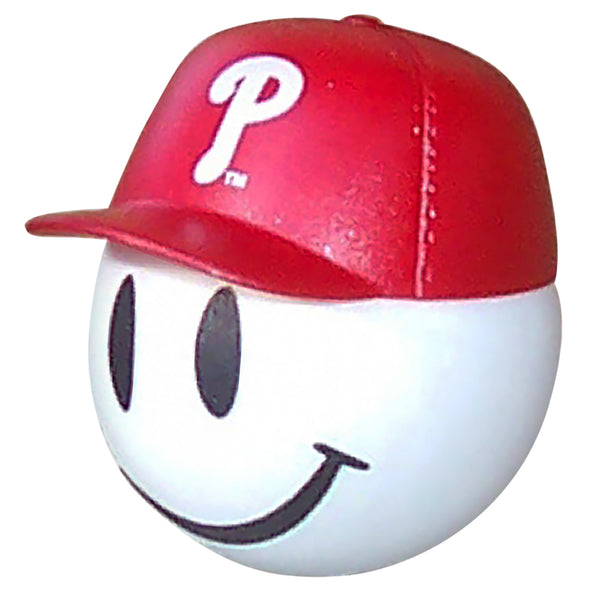 Philadelphia Phillies Cap Head Car Antenna Topper / Desktop Bobble Buddy (MLB Baseball)