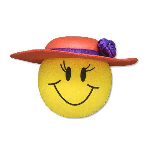 Tenna Tops Red Hat Lady Car Antenna Topper / Desktop Bobble Buddy