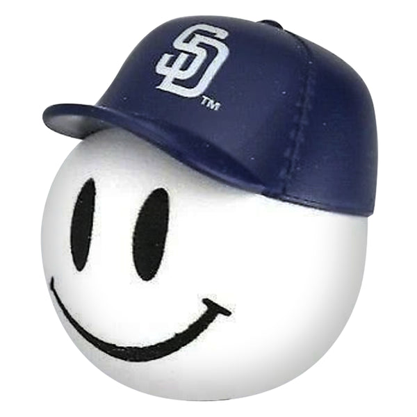 San Diego Padres Cap Head Car Antenna Topper / Desktop Bobble Buddy (MLB Baseball)