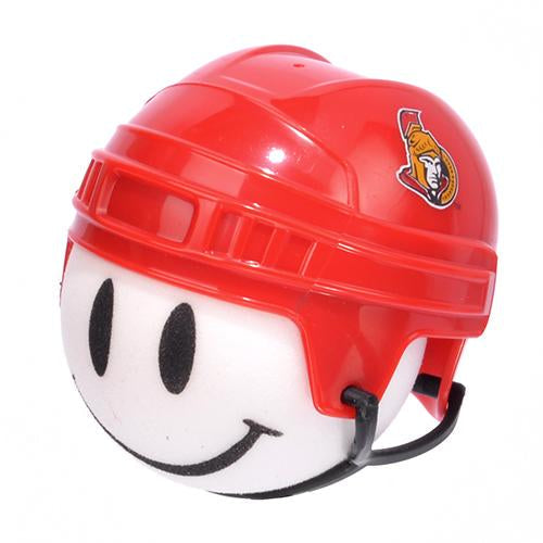 Ottawa Senators Helmet Head Car Antenna Topper / Auto Mirror Dangler / Desktop Bobble Buddy (NHL Hockey)