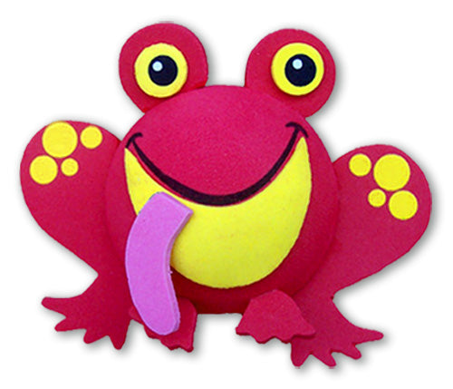 Tenna Tops California Red Frog Car Antenna Topper / Desktop Bobble Buddy