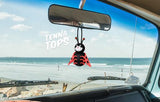 Tenna Tops Cute Ladybug Car Antenna Topper / Mirror Dangler / Desktop Bobble Buddy