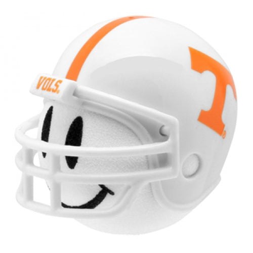 Tennessee Volunteers Car Antenna Topper / Desktop Bobble Buddy (White Smiley)(College Football)