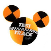 *Last One* Mickey Mouse Disney Epcot Test Track Car Antenna Topper / Desktop Spring Stand