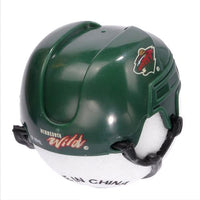 Minnesota Wild Helmet Head Car Antenna Topper / Auto Mirror Dangler / Desktop Bobble Buddy (NHL Hockey)