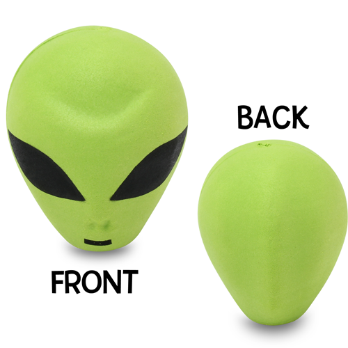 HappyBalls Green Alien Car Antenna Topper / Mirror Dangler / Desktop Spring Stand Bobble