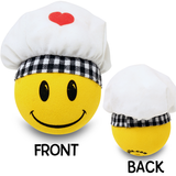 Happyballs Chef Cook Car Antenna Topper / Desktop Bobble Buddy