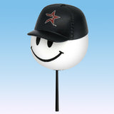 Houston Astros Cap Head Car Antenna Topper / Desktop Bobble Buddy(MLB Baseball)