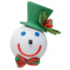 2014 Jack in the Box Green Dashing Holiday Car Antenna Topper / Desktop Bobble Buddy