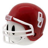 Oklahoma Sooners Car Antenna Topper / Desktop Bobble Buddy (White Smiley) (College Football)