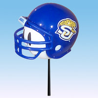 Southern University Jaguars Car Antenna Topper / Desktop Bobble Buddy (White Smiley) (College Football)